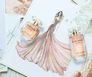 dress, elie saab, and perfume image