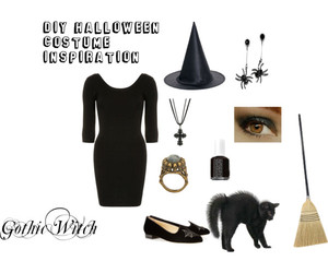 costume, gothic, and diy image