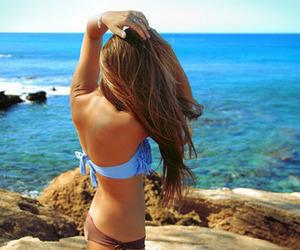 beach, Dream, and sky image