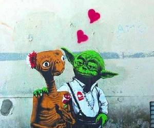 love, et, and yoda image