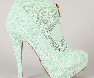 pastel, bootie, and mint green image