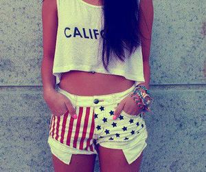 girl, fashion, and california image