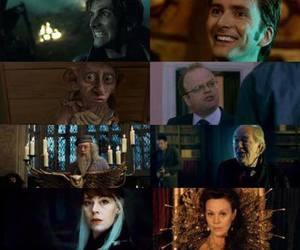 albus dumbledore, david tennant, and movie image