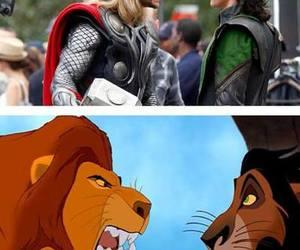 lion king and thor image