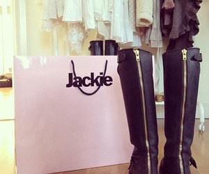 boots, fashion, and jackie image