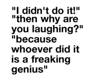 quote and funny image