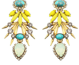 earrings, fashion, and jewelry image