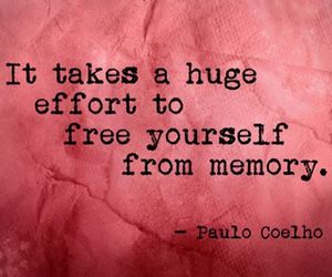 memories, quotes, and paulo coelho image