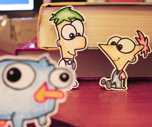 perry, ferb, and phineas image