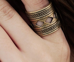 fashion, ring, and hipster image
