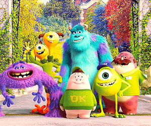 monsters university, disney, and mike image