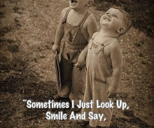 god, smile, and quotes image