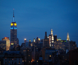 big apple, boutique, and empire state building image