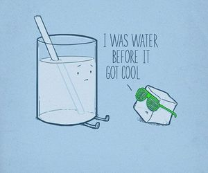 cool, water, and ice image