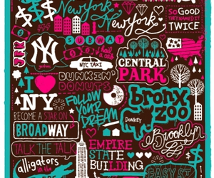 new york and typography image