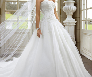 wedding dress and bridal gowns image