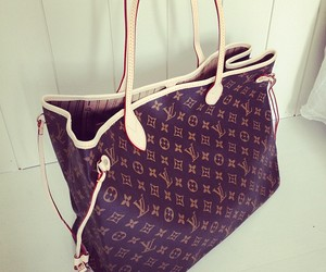 bag and Louis Vuitton image