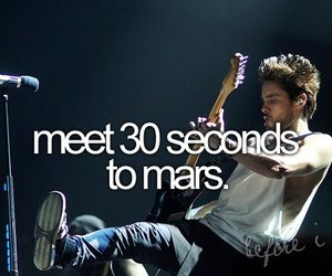 30 seconds to mars, before i die, and jared leto image