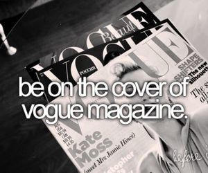vogue, magazine, and before i die image