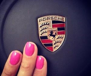 girl, luxury, and porsche image