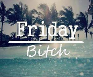 friday, bitch, and summer image
