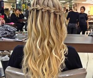 hair, fashion, and braids image