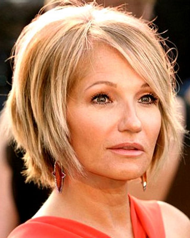 Sexy Short Hairstyles For Women Over 40 2013 On We Heart It