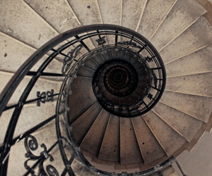 budapest, fibonacci, and spiral staircase image