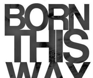 born this way, Lady gaga, and baby image