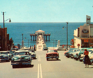 car, vintage, and california image