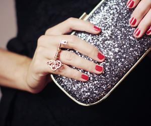 key, ring, and nails image