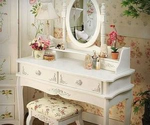 boudoir, rococo, and shabby chic image
