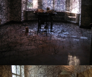 art, installation, and atmospheric image