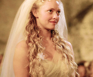 mamma mia, amanda seyfried, and wedding image