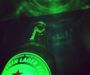beer, drink, and heineken image