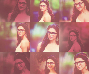 beautiful, glasses, and deepika padukone image