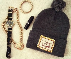 cool, beanie, and fashion image