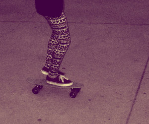 shoes, skate, and skater image