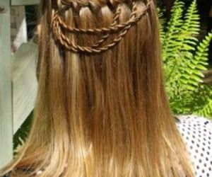 braid, hair, and cool image