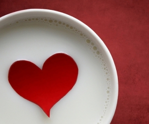 drink, heart, and milk image