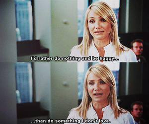 quotes, cameron diaz, and happy image