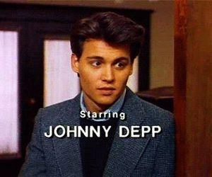 johnny depp, Hot, and boy image