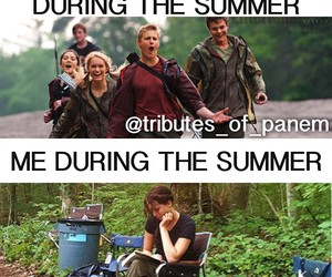summer, the hunger games, and thg image