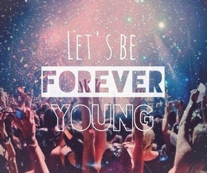 forever, lights, and young image