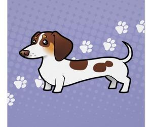 cartoon, dachshund, and doxie image