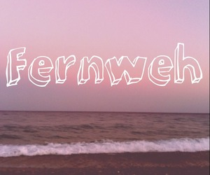 sunset, typography, and wanderlust image