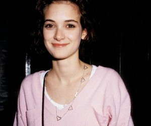 winona ryder, 90s, and pink image