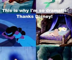 disney, princess, and dramatic image