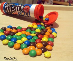 colors, heart, and m&m image