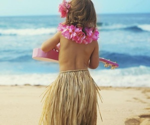 beach, hawaii, and summer image